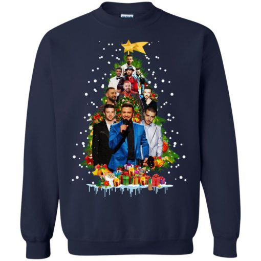 Justin Timberlake Christmas tree sweatshirt shirt - image 173 510x510