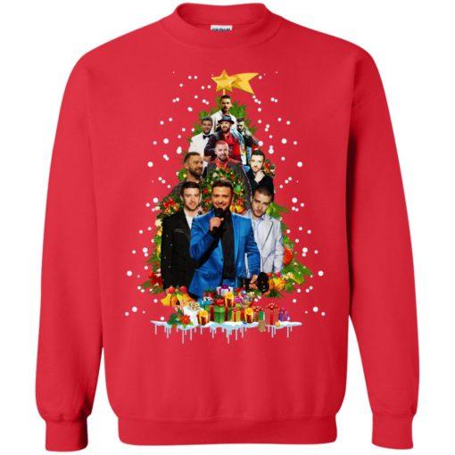 Justin Timberlake Christmas tree sweatshirt shirt - image 174 510x510