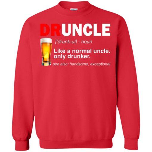 Druncle beer Like a normal uncle only drunker shirt - image 238 510x510