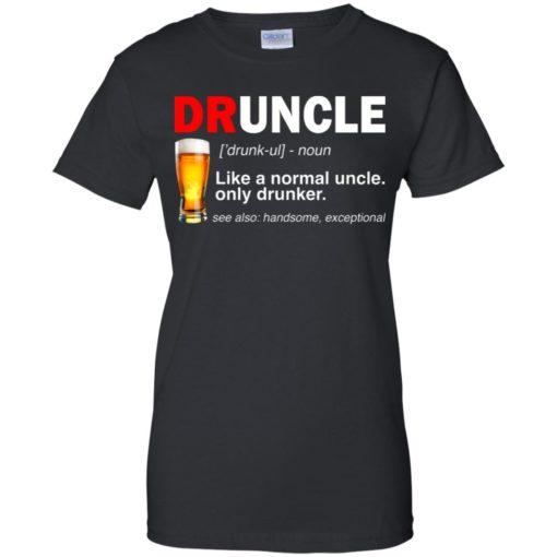 Druncle beer Like a normal uncle only drunker shirt - image 239 510x510