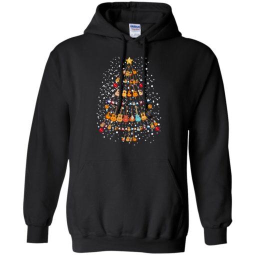 Guitar Christmas tree sweatshirt shirt - image 259 510x510
