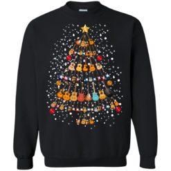 Guitar Christmas tree sweatshirt shirt - image 260 247x247