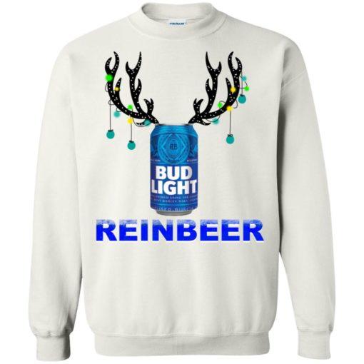 Bud Light Reinbeer Christmas sweatshirt shirt - image 398 510x510