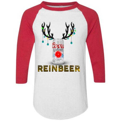 Coors Light Reinbeer Christmas sweatshirt shirt - image 412 510x510