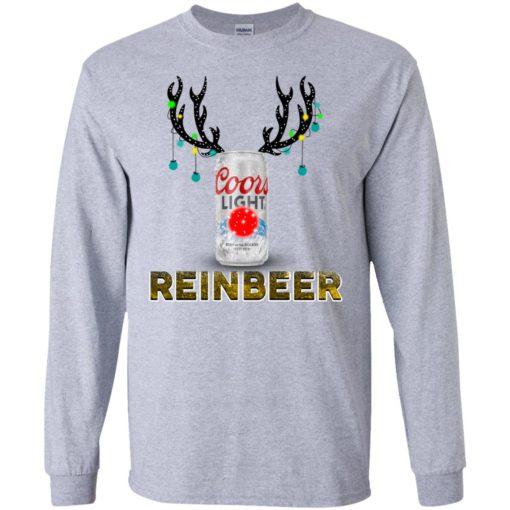 Coors Light Reinbeer Christmas sweatshirt shirt - image 413 510x510
