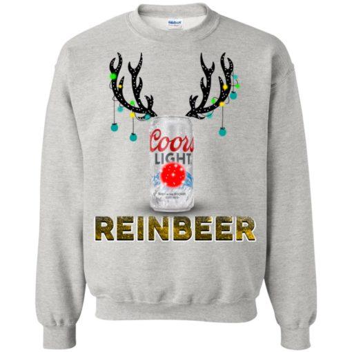 Coors Light Reinbeer Christmas sweatshirt shirt - image 415 510x510