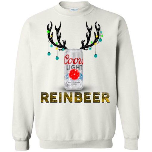 Coors Light Reinbeer Christmas sweatshirt shirt - image 416 510x510