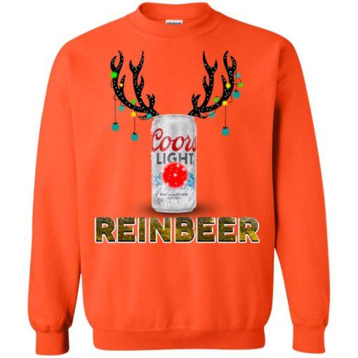 Coors Light Reinbeer Christmas sweatshirt shirt - image 417 510x510