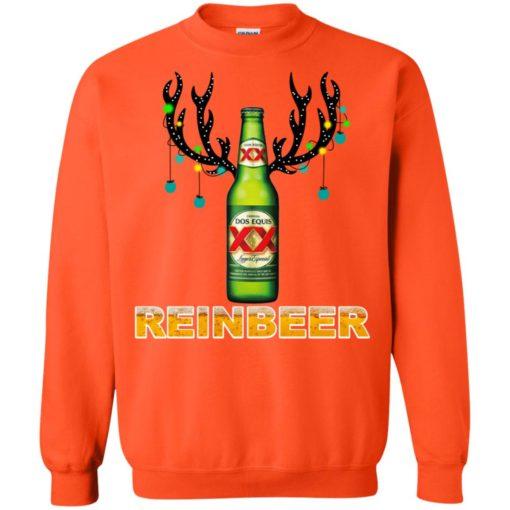 Dos Equis Reinbeer Christmas sweatshirt shirt - image 453 510x510
