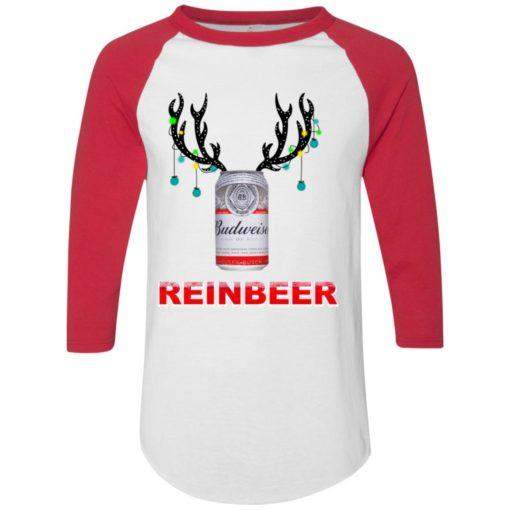 Budweiser Reinbeer Christmas sweatshirt shirt - image 466 510x510