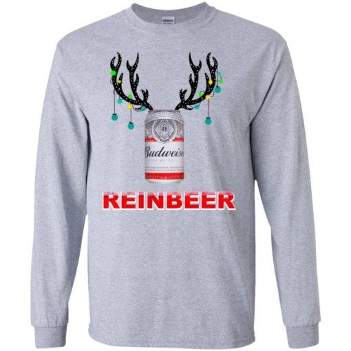 Budweiser Reinbeer Christmas sweatshirt shirt - image 467 510x510