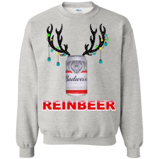 Budweiser Reinbeer Christmas sweatshirt shirt - image 469 510x510