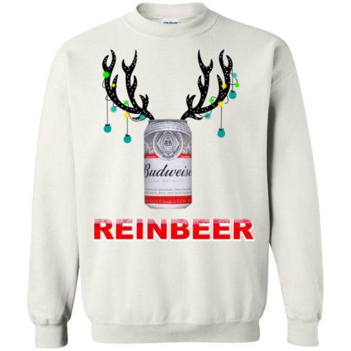 Budweiser Reinbeer Christmas sweatshirt shirt - image 470 510x510