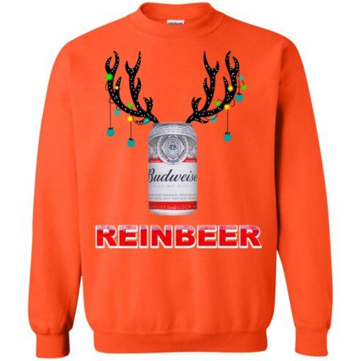 Budweiser Reinbeer Christmas sweatshirt shirt - image 471 510x510