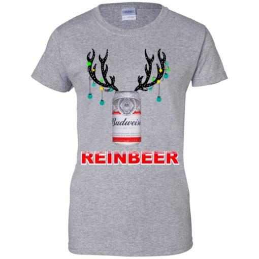 Budweiser Reinbeer Christmas sweatshirt shirt - image 472 510x510