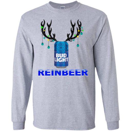 Bud Light Reinbeer Christmas sweatshirt shirt - image 476 510x510