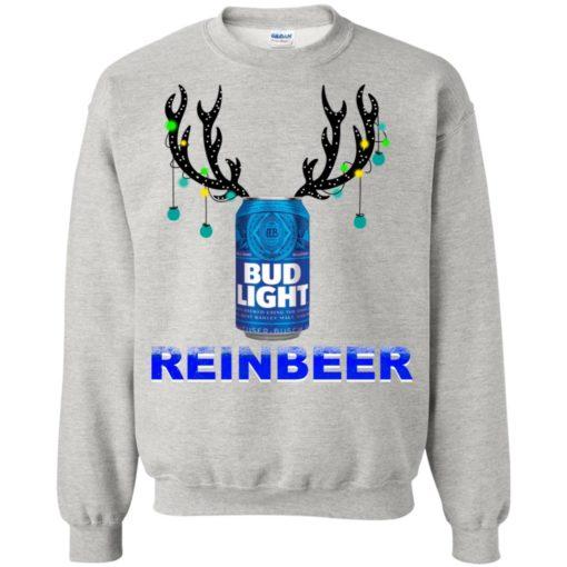 Bud Light Reinbeer Christmas sweatshirt shirt - image 478 510x510