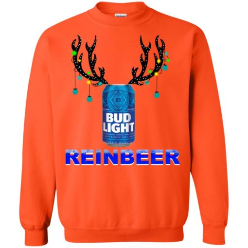 Bud Light Reinbeer Christmas sweatshirt shirt - image 480 510x510