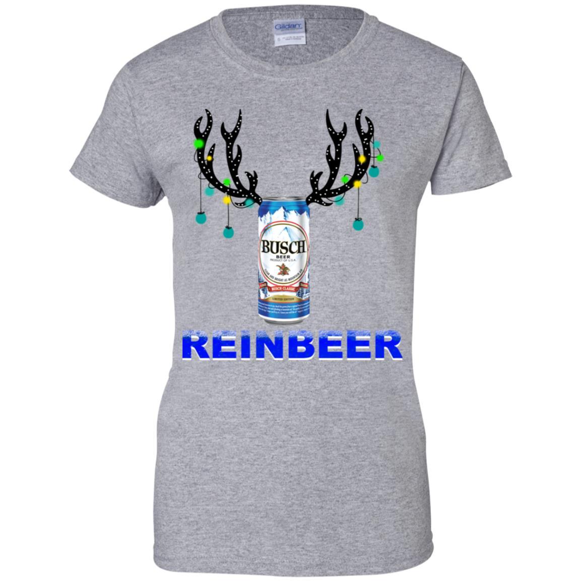 Busch Light Reinbeer Christmas Sweatshirt, Hoodie, Long Sleeve