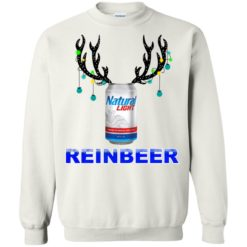 Natural Light Reinbeer Christmas sweatshirt shirt - image 515 247x247