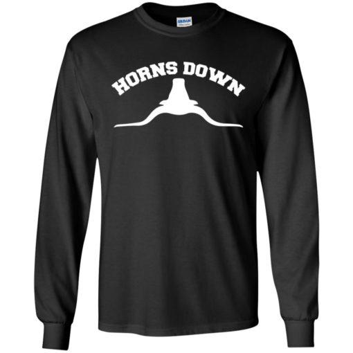 Texas Longhorns Horns down shirt - image 599 510x510