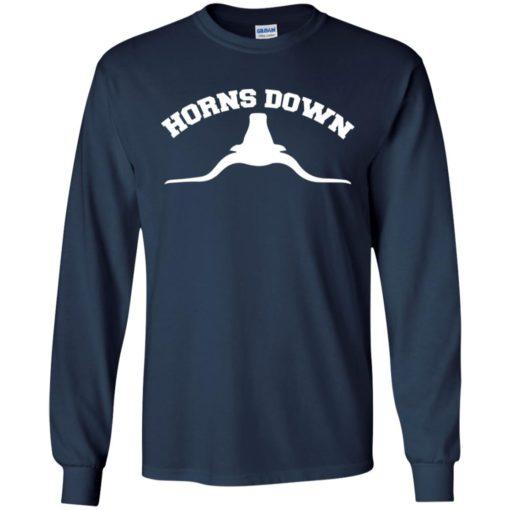 Texas Longhorns Horns down shirt - image 600 510x510