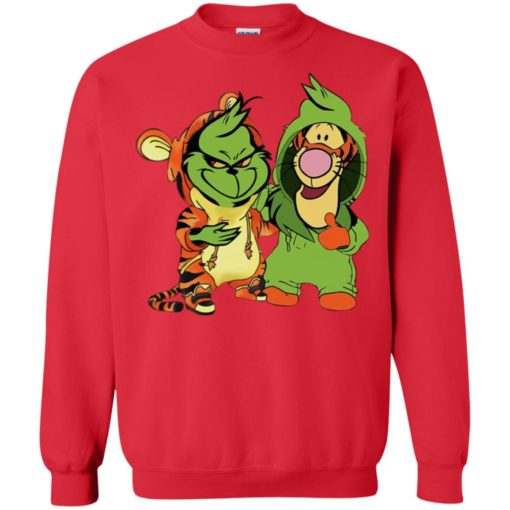 Grinch and Tigger shirt - image 828 510x510