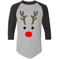 Rudolph reindeer face Christmas sweatshirt shirt - image 855 247x247