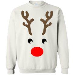 Rudolph reindeer face Christmas sweatshirt shirt - image 860 247x247