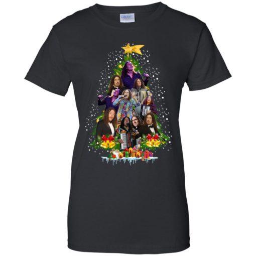 Weird Al Yankovic Christmas tree sweatshirt shirt - image 87 510x510