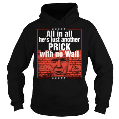 Trump all in all he's just another prick with no wall shirt shirt - All in all hes just another prick with no wall shirtvvvvv 400x400