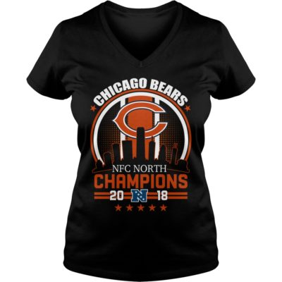 Chicago Bears NFC North Champions 2018 shirt shirt - Chicago North shi 400x400