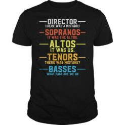 Director there was a mistake sopranos it was the al tos al tos it was us shirt shirt - Director there was a mistake sopranos shirt 247x247
