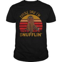 Snuffleupagus every day I'm snufflin shirt shirt - Every day Im snufflin shirt 247x247
