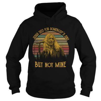Patti Smith Jesus died for somebody's sins but not mine shirt shirt - Jesus died for somebodys sines shir 400x400