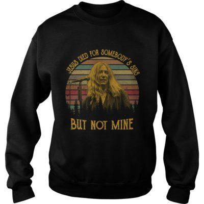 Patti Smith Jesus died for somebody's sins but not mine shirt shirt - Jesus died for somebodys sines shirtvvv 400x400