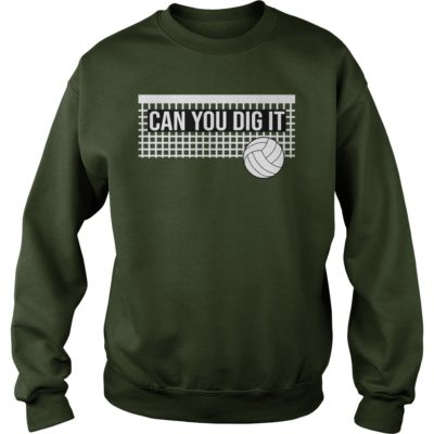 Can you dig it volleyball shirt, hoodie shirt - volleyballvvvv 400x400