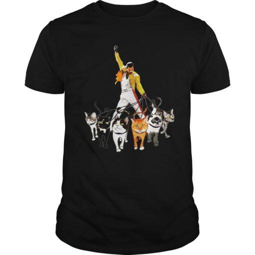 Freddie Mercury with cats shirt, hoodie shirt - Freddie Mercuryvv 510x510