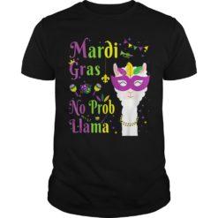 Maroi gras no prob Llama shirt, hoodie shirt - Maroi gras no prob Llama 247x247