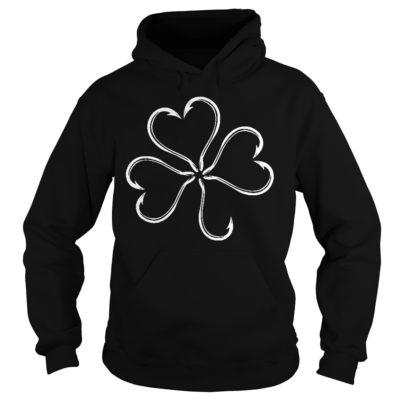 St patrick day Clover fish hook shirt, hoodie shirt - St patrick day Clover fish hook shi 400x400