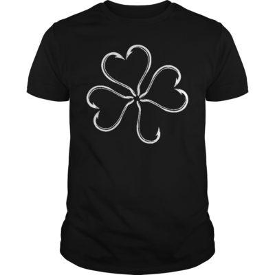 St patrick day Clover fish hook shirt, hoodie shirt - St patrick day Clover fish hook shirt 400x400