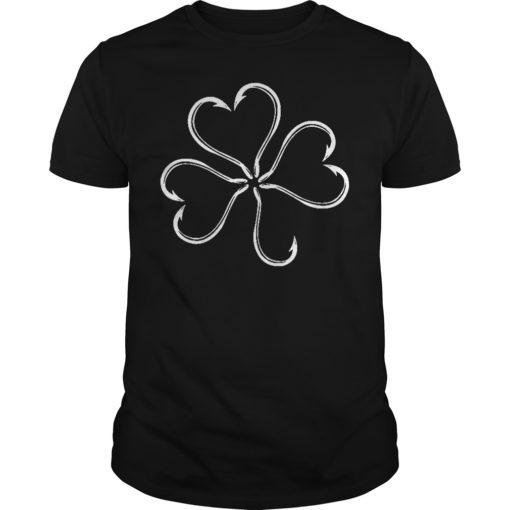 St patrick day Clover fish hook shirt, hoodie shirt - St patrick day Clover fish hook shirt 510x510