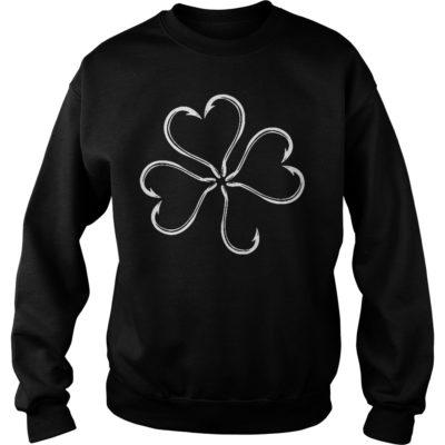 St patrick day Clover fish hook shirt, hoodie shirt - St patrick day Clover fish hook shirtvvv 400x400