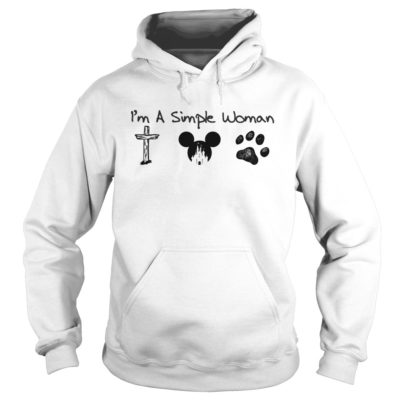 I'm a simple woman Jesus mickey and dog shirt shirt - im a simple woman mickey shirtvvvv 400x400