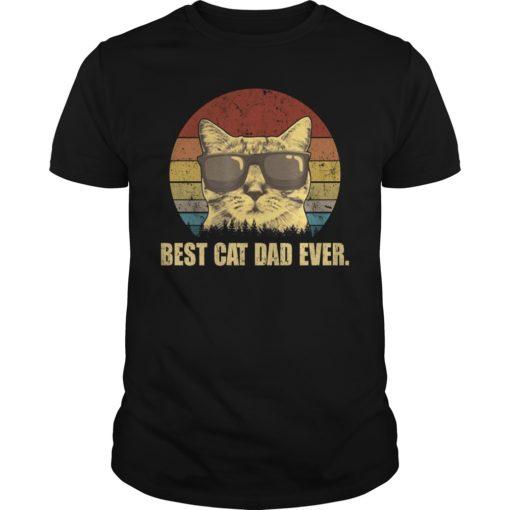 Best cat dad ever shirt, hoodie shirt - Best cat dad ever shirt 510x510