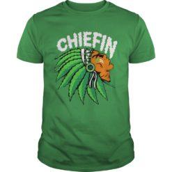 Chiefin weed smoking Indian shirt, hoodie shirt - Chiefin shirt 247x247