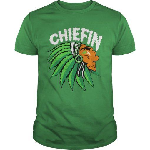 Chiefin weed smoking Indian shirt, hoodie shirt - Chiefin shirt 510x510