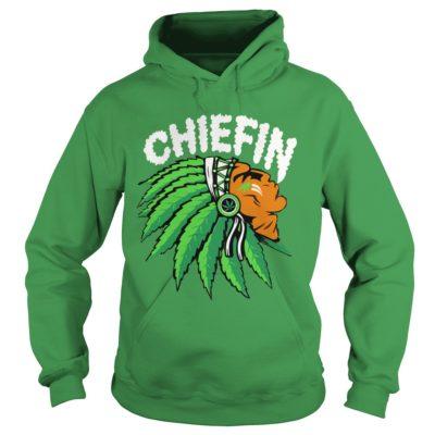 Chiefin weed smoking Indian shirt, hoodie shirt - Chiefin shirtvv 400x400