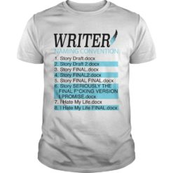 Writer Naming convention shirt, hoodie shirt - Naming convention shirt 247x247