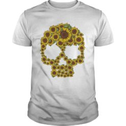 Sunflower skull shirt, hoodie shirt - Sunflower skull shirt 247x247